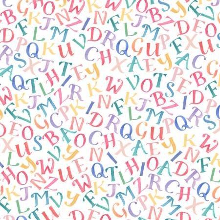 My Imagination Tossed Alphabet Multi