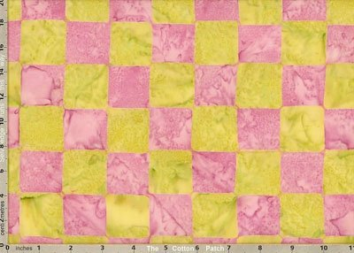 KF - Artisan Chessboard Batik - Apple