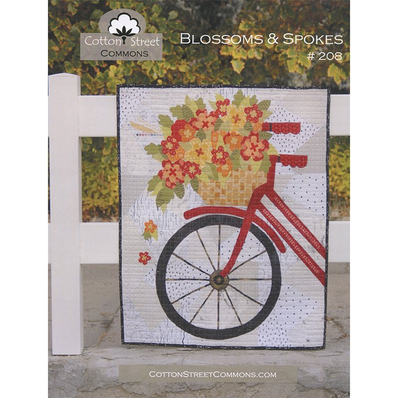 Blossoms & Spokes Pattern Only