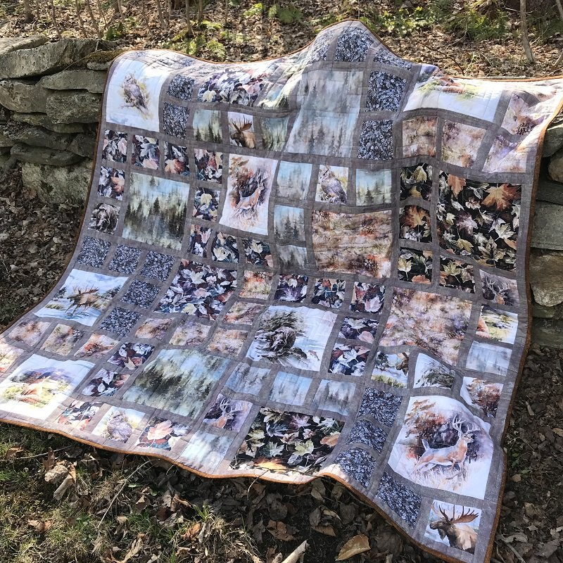 Woodland Whispers Quilt Kit