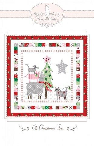 Bunny Hill Oh Christmas Tree  Mini Pattern