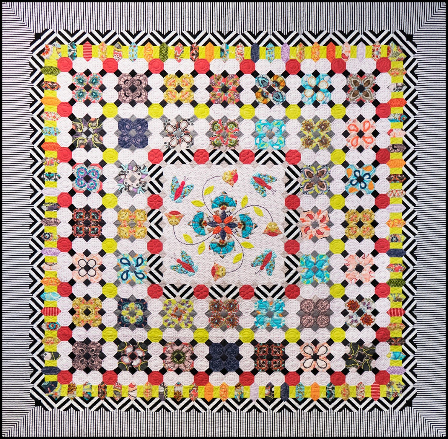 Butterfly Dance Quilt by Sue Daley