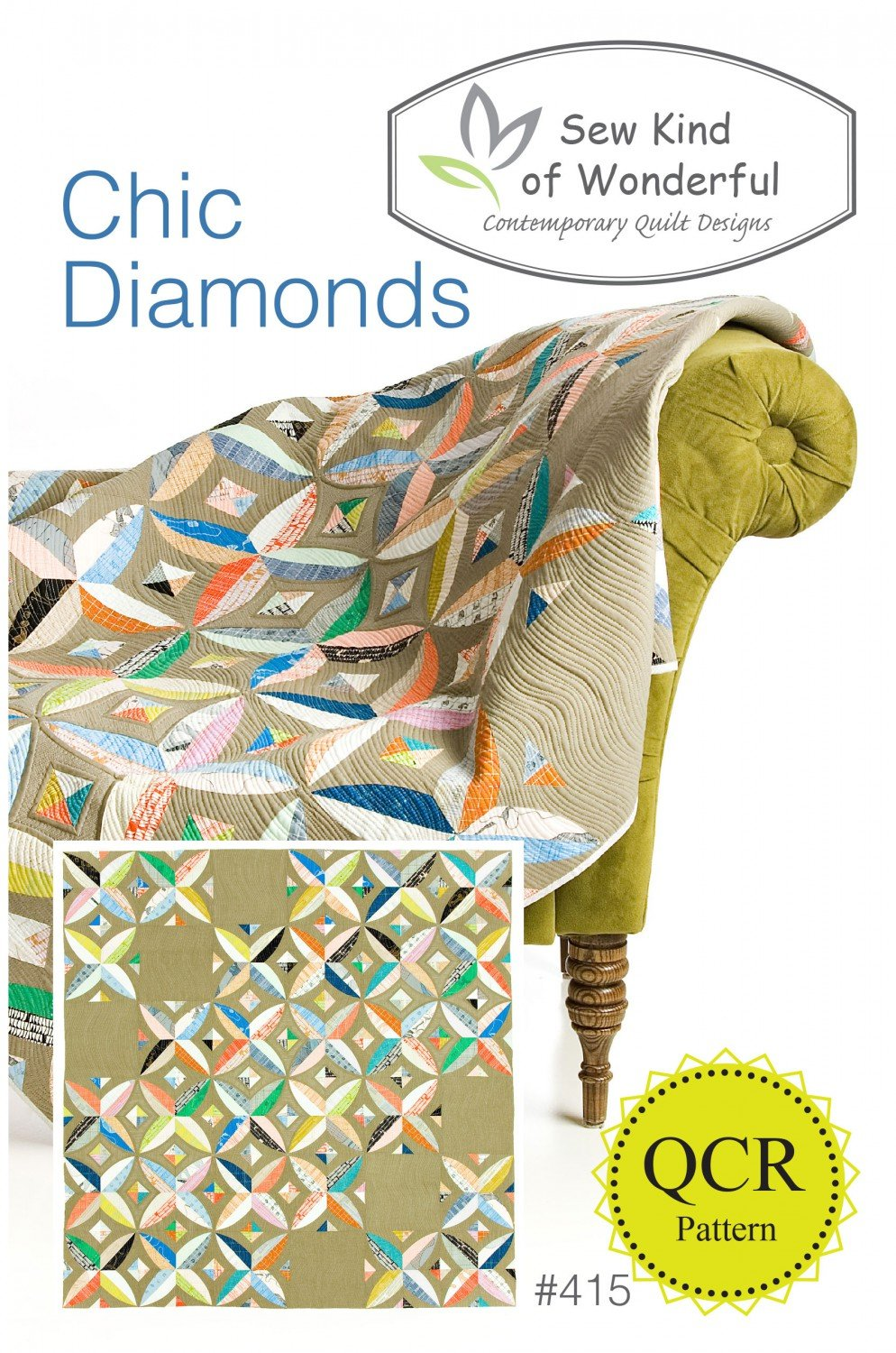Chic Diamonds by Sew Kind of Wonderful
