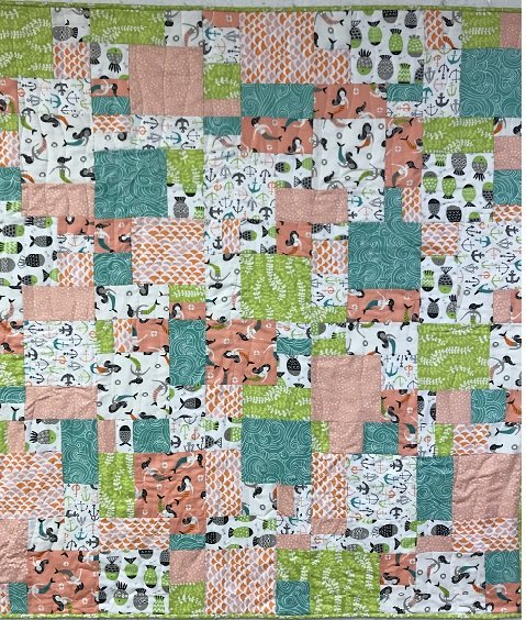Fish Tales Baby Quilt