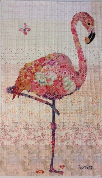 Laura Heine Pinkerton the Flamingo