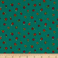 Bloom Floral Scatter Teal