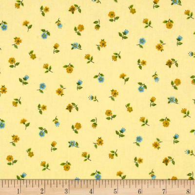 Bloom Floral Scatter Yellow