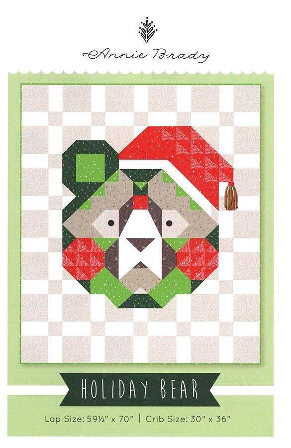 Holiday Bear  by Annie Brady Lap KIT