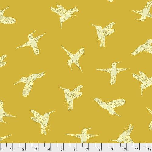 Valori Wells Hummingbirds Gold