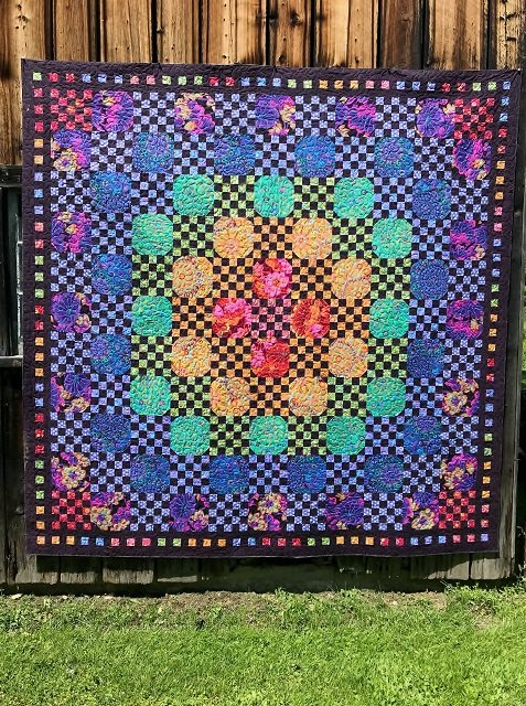 Kaffe Fassett Mystery Dark Version