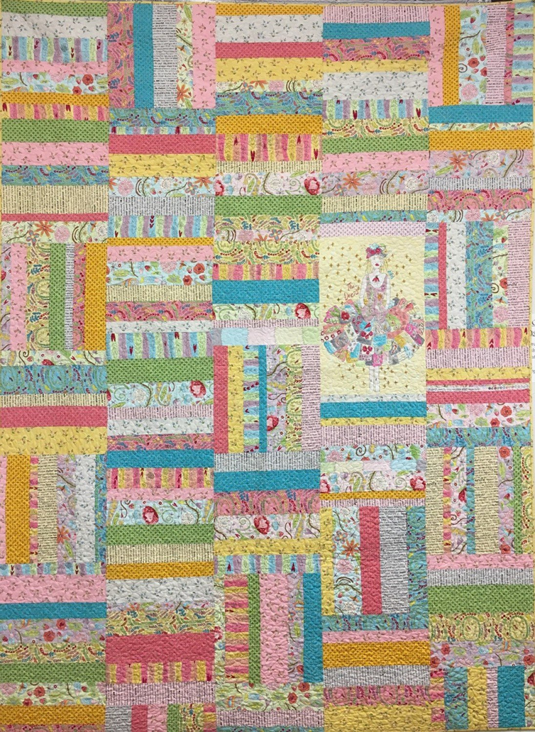 Laura Heine Flower Child Quilt