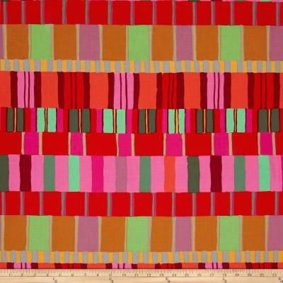 KF - Artisan Layered Stripe - Red