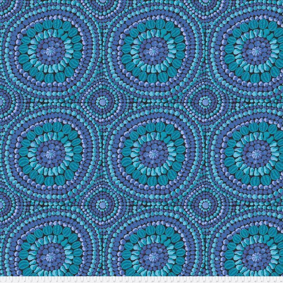 KF-Mandala Wide Back Blue