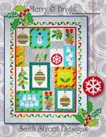 Machine Embroidery Pattern Merry and Bright