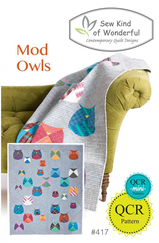 Mod Owls by Sew Kind of Wonderful
