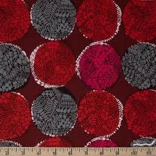 Cotton & Steel Safari Nest Red
