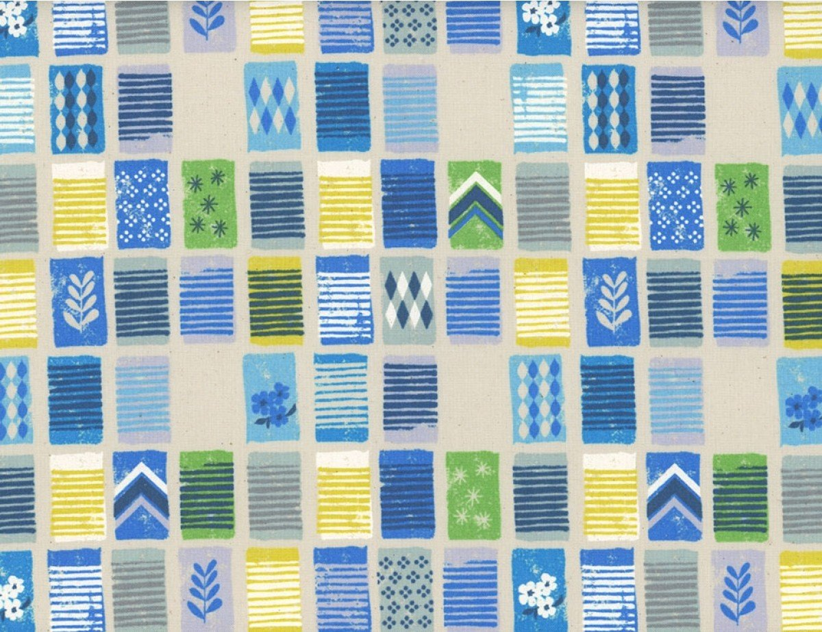 Cotton+Steel Poolside Towels Blue
