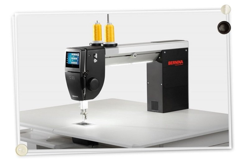 Bernina Q20 and Q 24 Long Arm