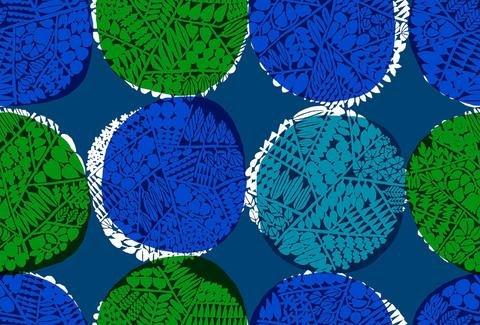 Cotton & Steel Safari Nest Blue