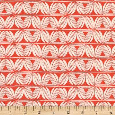 Cotton+Steel Santa Fe- Pottery - Red