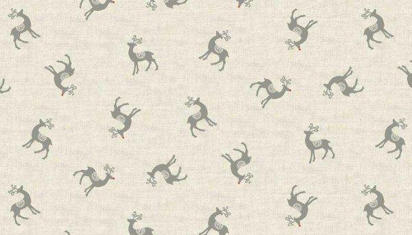 Scandi Reindeer Gray