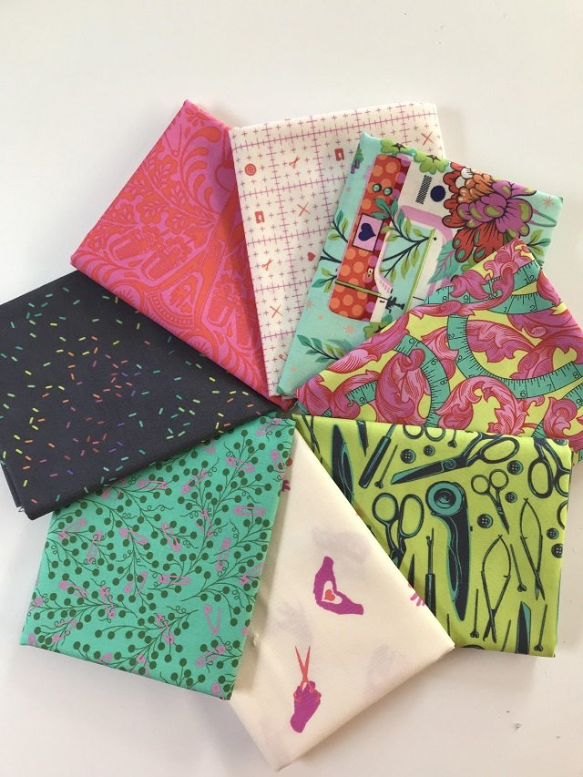 Tula Pink Homemade (8) Fat Quarters Morning