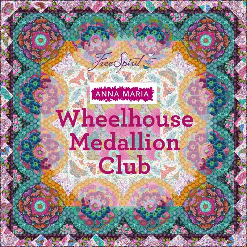 Waterwheel Medallion by Anna Maria Horner  BOM Club