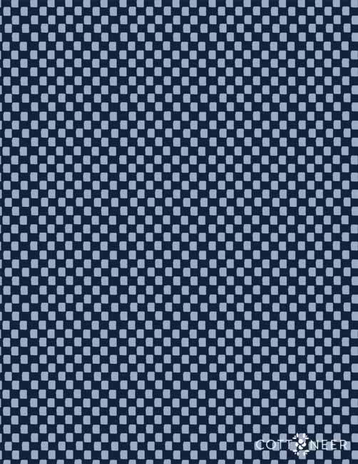 Rifle Paper Company  Checkers Navy