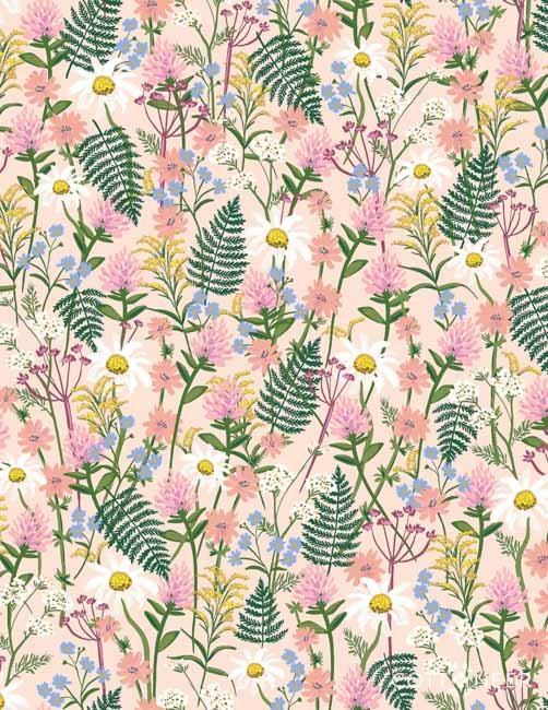 Rifle Paper Company  Wildflowers Pink