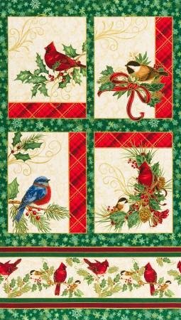Holiday Winter Grandeur panel