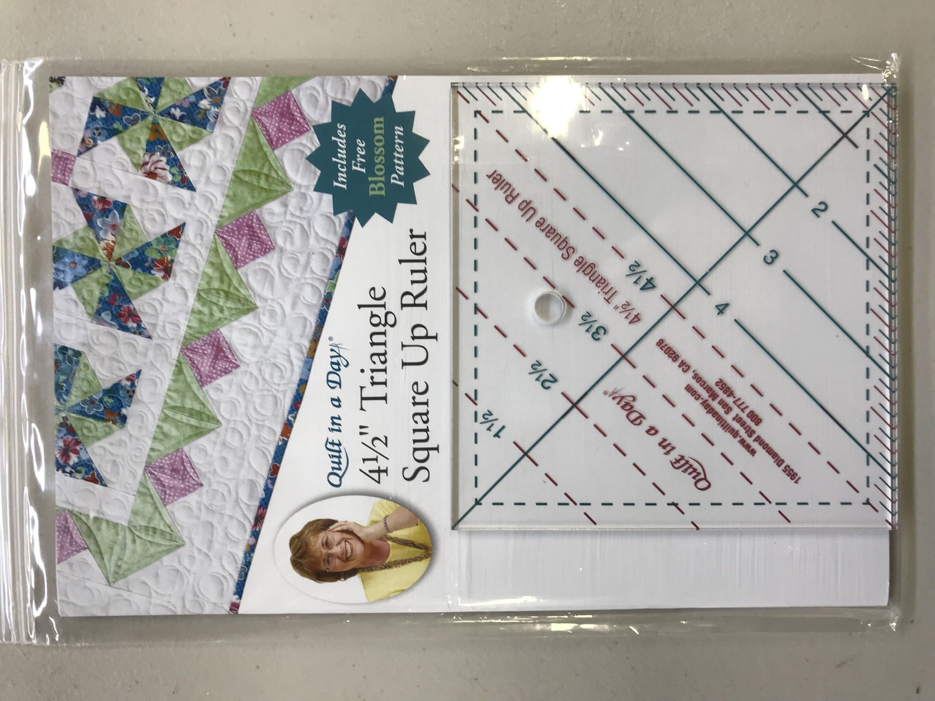 Triangle Square Up Ruler 4.5