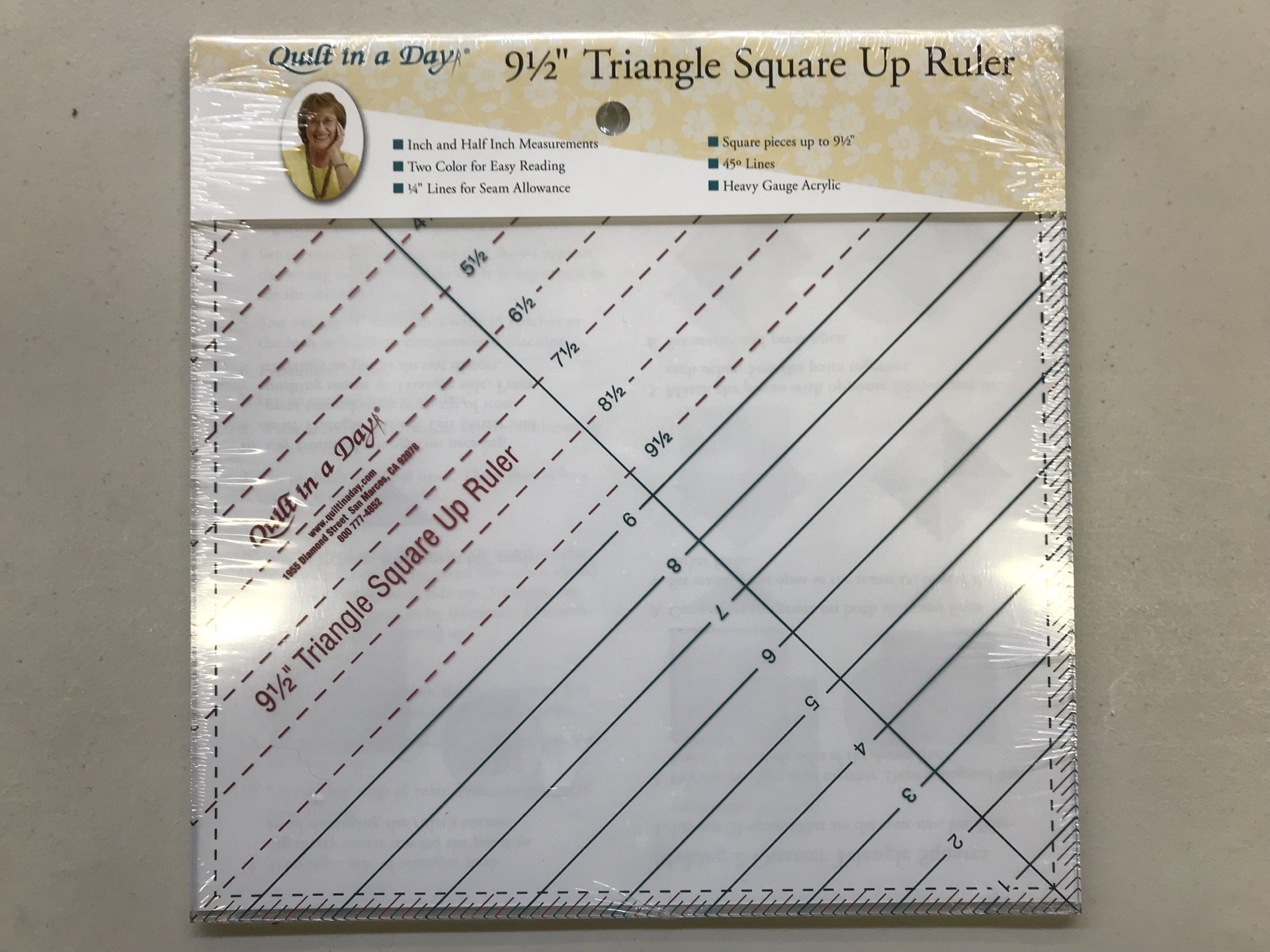 Triangle Square Up 9.5