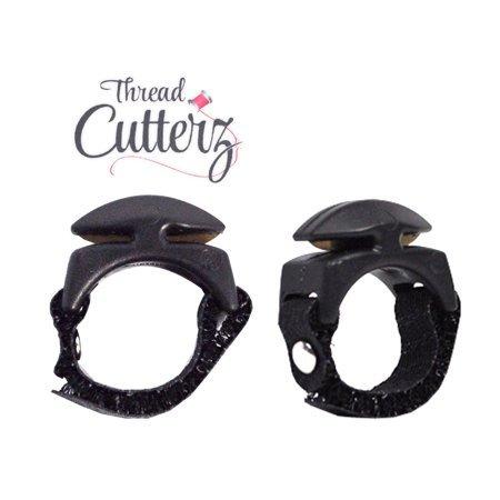 Thread Cutterz Ring-Black adjustable