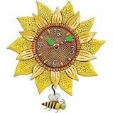 CLOCK-Bee Sunny Pendulum