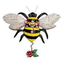 Clock-Buzz Bee
