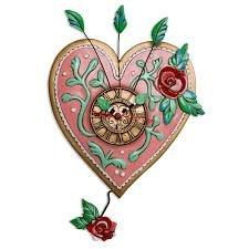Clock-Love Blooms