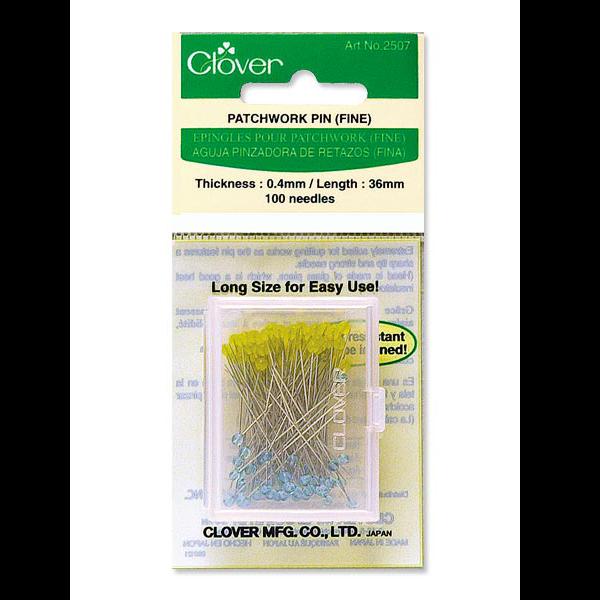 Clover Patchwork Fine Pins 100ct