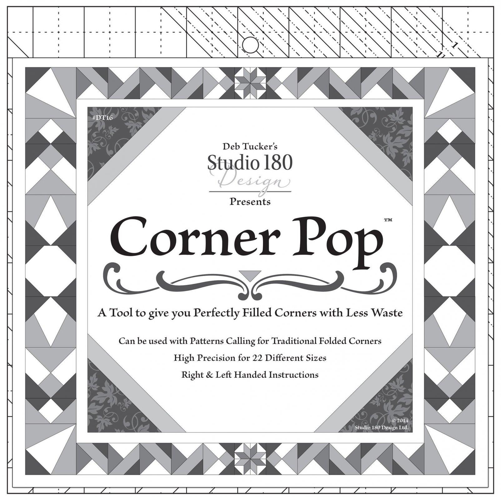 Corner Pop Ruler