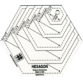 Hexagon Template Shapes