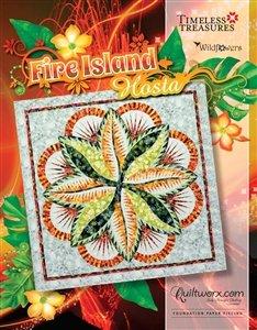 Fire Island Hosta-Wall pattern