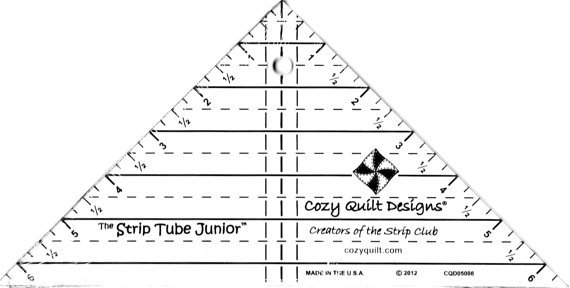 Strip Tube Ruler-Cozy Quilt