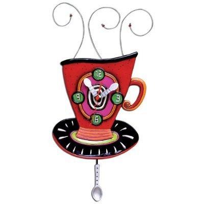 CLOCK-Wake Up Cup