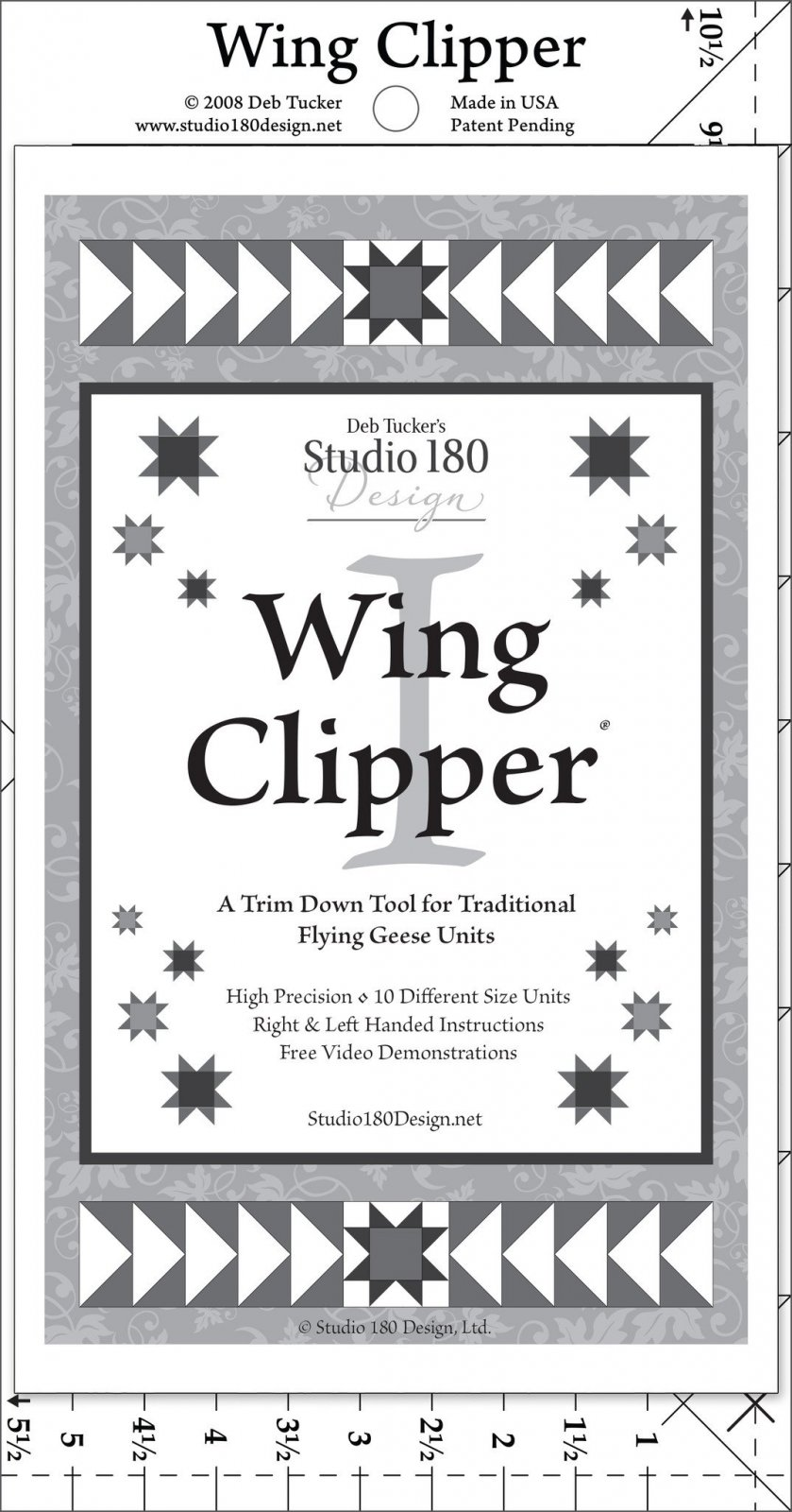 Wing Clipper II Ruler