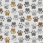 Good Doggie Paw Print