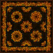 One Fabric Autumn Kaleidscope