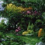 Park Landscape by Michael Miller