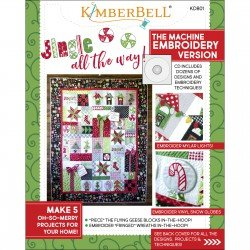 Embroidery CD Jingle All the Way (includes Sewing Book)