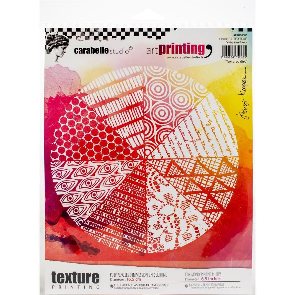Carabelle Studio - Texture plate Textured Disc 6.5