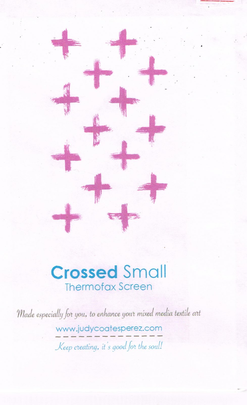 Crossed by Judy Coates-Perez
