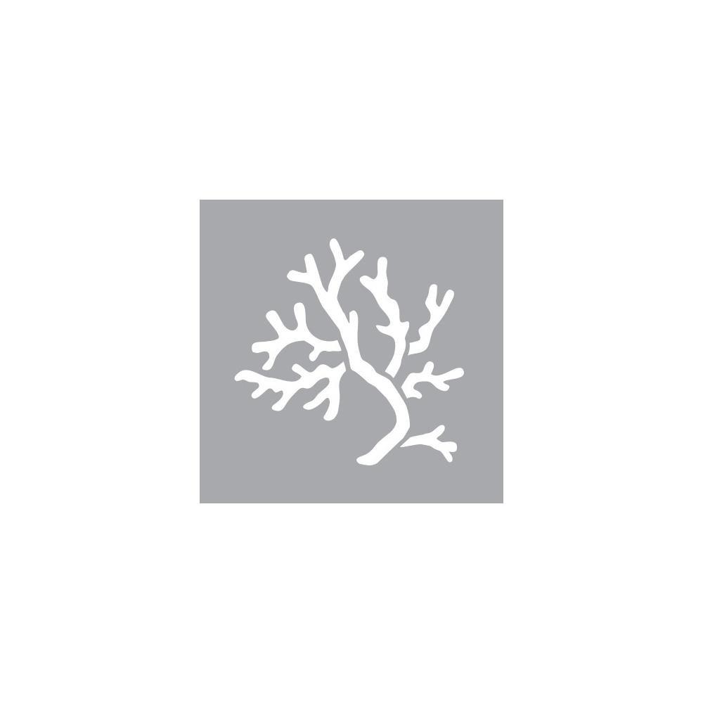 Deco Art 6' X 6 Coral Stencil